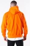 Basic Brand Hooded Sweat Orange
