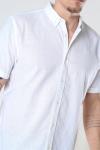Clean Cut Copenhagen Cotton / Linnen Shirt S/S White