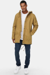 ONLY & SONS ONSALEX TEDDY PARKA JACKET EXP RE Dull Gold