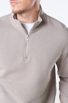 Only & Sons Ceres Life Half Zip Sweat Chinchilla