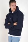 Jack & Jones Soft Sweat Hood Navy Blazer