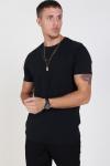 Solid Rock S/S Organic T-shirt Black