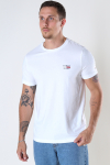 Tommy Jeans TJM CHEST LOGO TEE White