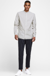 Jack & Jones JJESUMMER BAND SHIRT L/S S21 STS Crockery SLIM FIT