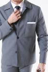 Selected Carlo Flex Hybrid Grey Melange