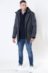 Jeff Anders Parka Jakke Charcoal Mix