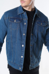 Solid Peyton Denim Jakke Dark Village Blue Denim