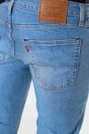 Levis 512 Slim Taper Pelican Rust    Med Indigo - Flat Finish