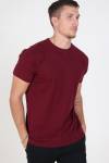 Kronstadt Basic T-shirt Bordeaux