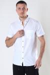Kronstadt Johan seersucker s/s shirt White