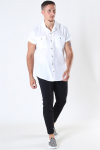 Only & Sons Andrew Waffle Skjorte S/S White