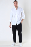 Kronstadt Johan Linen henley shirt White