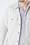 ONLY & SONS ONSKENNET LIFE LS LINEN OVERSHIRT NOOS Pelican