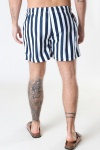 Clean Cut Copenhagen Swim Shorts Navy Stripe