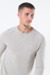 Jack & Jones Hill Crew Neck Strik Oatmeal