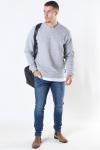 Tailored & Originals Ravn Sweatshirt Light Grey Melange