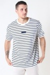 Woodbird Menak Stripe T-shirt Kit-Navy