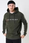 Denim project Logo Hoodie 140 DEEP DEPTHS
