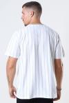 WoodBird Drek Stripe T-shirt White/Ecru/Kit