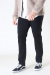 Woodbird Steffen Twill Pant Black