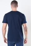 Selected Norman 180 SS O-Neck T-shirt Navy Blazer