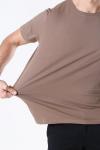 Clean Cut Miami Stretch T-shirt Camel