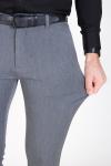 Tailored & Originals Frederic Pants Med Grey Melange