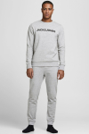 Jack & Jones JACLOUNGE SET NOOS Light Grey Melange Light grey melange