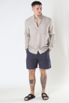 Woodbird Bommy Hoxen Shorts Antra Grey