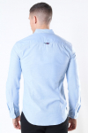 Tommy Jeans Slim Stretch Oxford Skjorte Perfume Blue