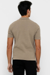 ONLY & SONS ONSMOOSE LIFE 12 SS POLO KNIT Chinchilla