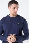 Clean Cut Basic Organic T-shirt LS Navy