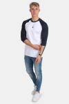 Urban Classics Tb366 T-shirt White/Navy