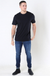 Selected Norman 180 SS O-Neck T-shirt Black