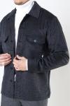 Woodbird Glixto Wool Overshirt Grey