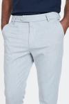 Les Deux Como Suit Pants Snow Melange