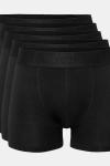 Resteröds Bambu 5-Pack Gunnar Boxershorts Black