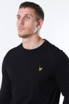 Lyle & Scott LS Crew Neck T-shirt Jet Black