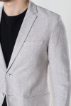 Jack & Jones JPRRAY LINEN BLAZER Beige SUPER SLIM FIT