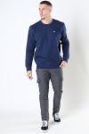 Tommy Jeans Regular Fleece Crewneck Twilight Navy