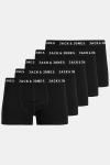 Jack & Jones Huey 5-pack Trunks Black