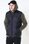 Only & Sons Paul Quilted Vest Black