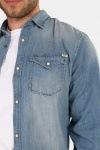 Jack & Jones Sheridan Skjorte Medium Blue Denim