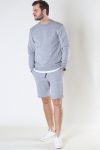 Only & Sons Onsceres Life Sweat Shorts Light Grey Melange