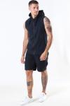 Basic Brand Sport Hoodie Zip SL Heather Black