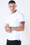 Muscle Fit Polo White
