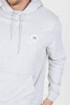 Woodbird Our Shaxy Patch Hoodie Snow Melange