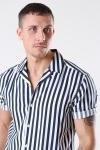 Only & Sons Wayne Striped Viscose Skjorte Dress Blues