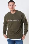 Denim Project Logo Crew Olive