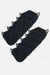 Liebhaveri Stretch Mundbind 10-pack Black